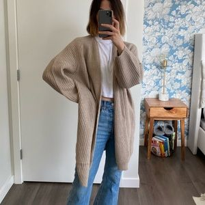 Oversized cardigan from H&M